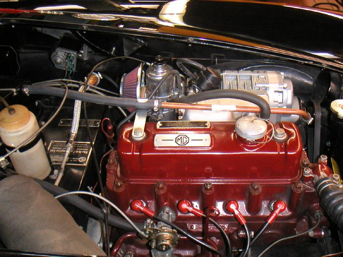 Supercharger installation on 1961 MKI.