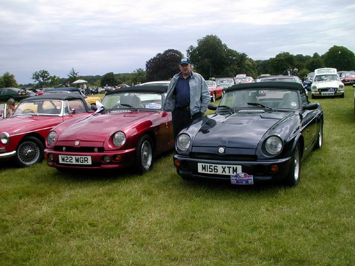 Summer Day Out at Basildon Park 2004. Just the Blue one is mine.