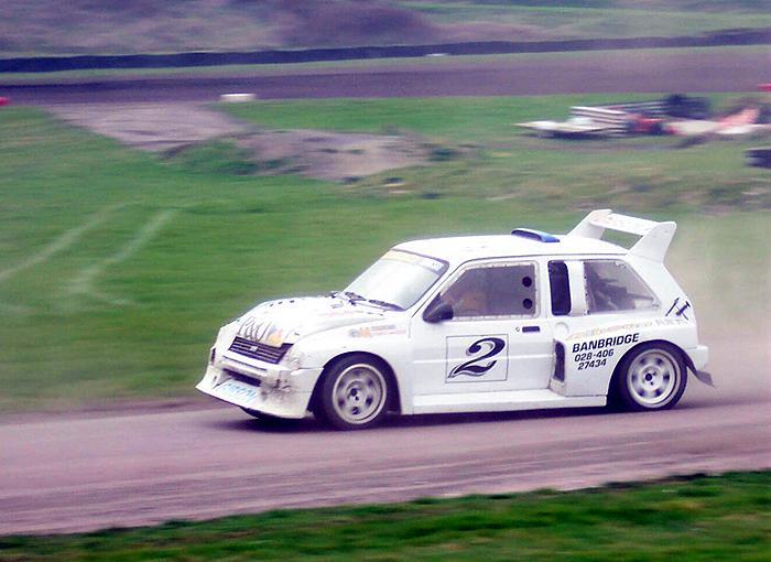 Lawrence Gibson's 6R4 was beautifully driven on Easter Monday - the highlight being a move from third to first around Chessons Drift during one of the heats