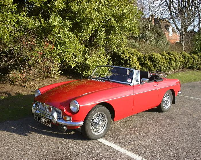 I wanted a red roadster with overdrive and wire wheels to relive my youth just like it says on the tin