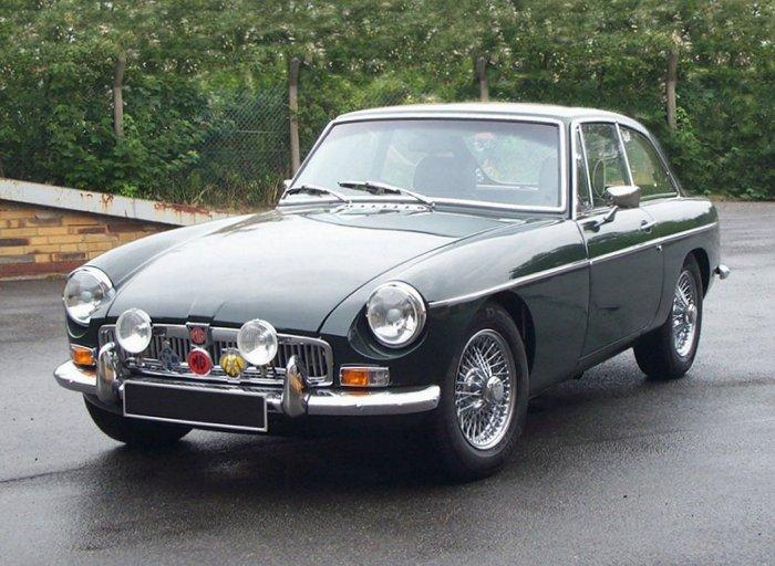 1968 MGB GT Mark II (RHD Home Market Model) - Emma had been nut-and-bolt-restored from Feb 1993 to Aug 2004.