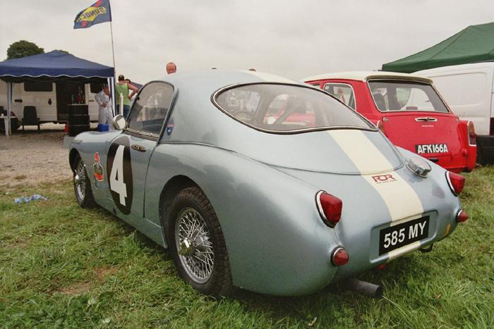 Chimay Historicar 2005 - speedwell sprite at rest/2