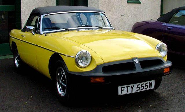 Original MGB ready for the summer