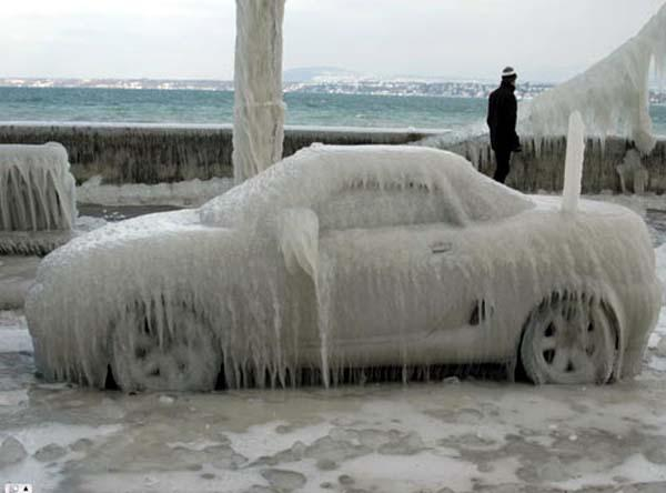 Just had to post this one. MGF on Ice in Switzerland.Found on the web.Bryn