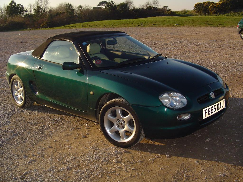 HERE IS MY MGF, I HAVE ONLY HAD IT A MONTH BUT LOOK TO THE SUMMER