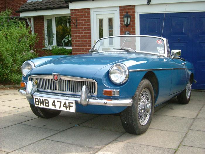 1968 Blue B, when I first purchased, having sills done this month.