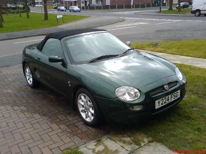 """This is another MG in the family...We have an """"MGA Roadster"""",""""MGB Roadster"""", and now an MGF as well..."""