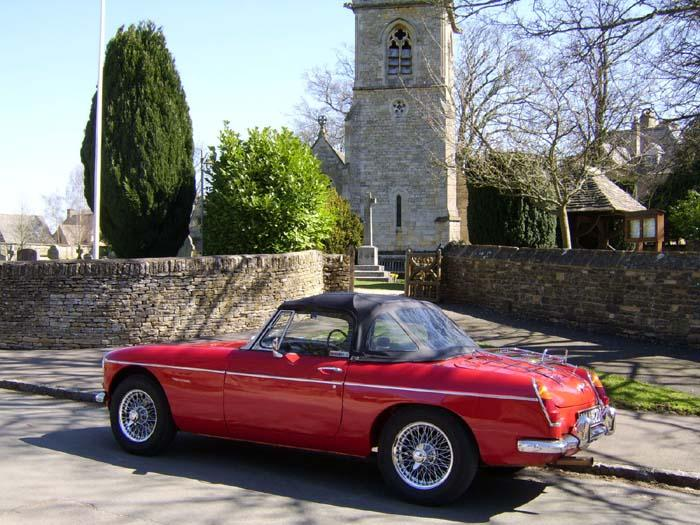 Happy 40th to my MGB