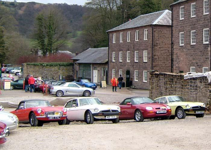 Mid-day stop at the Cromford Mill.