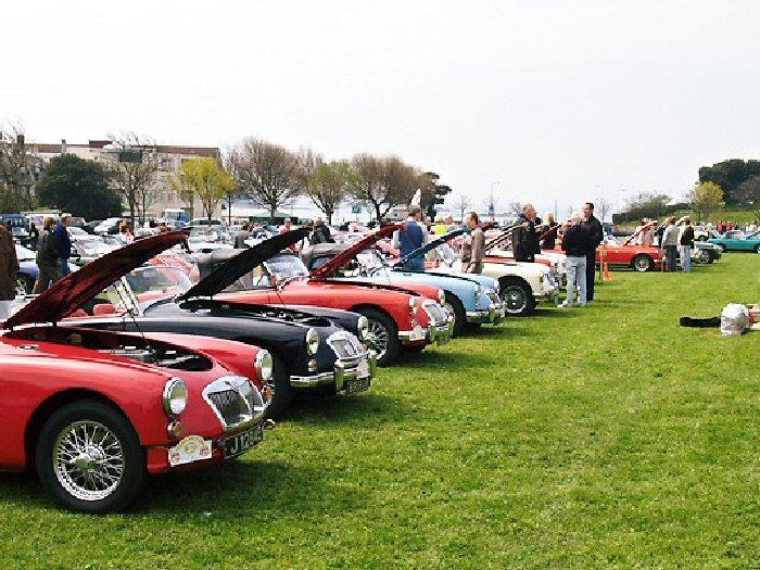 MGA's at Jersey Rally concours