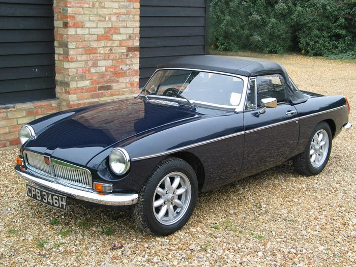 I recently bought this restored 1970 Roadster, took it to the office one sunny day, and a colleague recognised it as the car he had owned and sold over 15 years ago. It was BRG when he had it and has since been rebuilt on a Heritage shell. What a coincidence!
