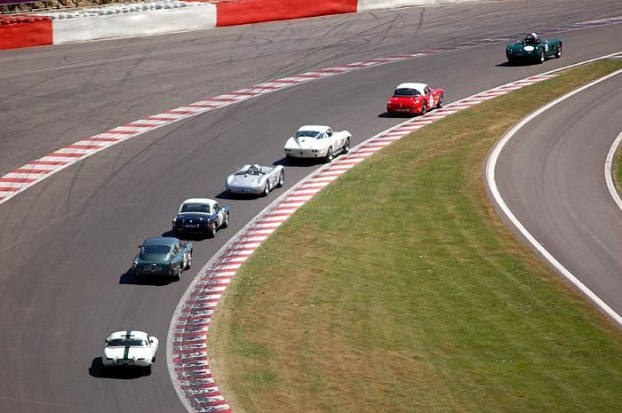 Climbing up the Raidillon during the 2-hour race in Spa-Francorchamps