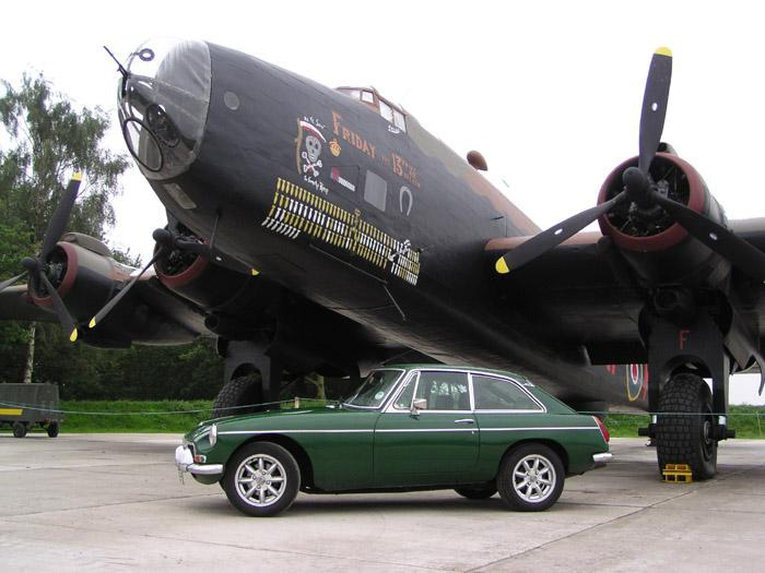 Yorkshire Air Museum Elvington York is privileged to have its fine Halifax Bommer outside behind my BGT