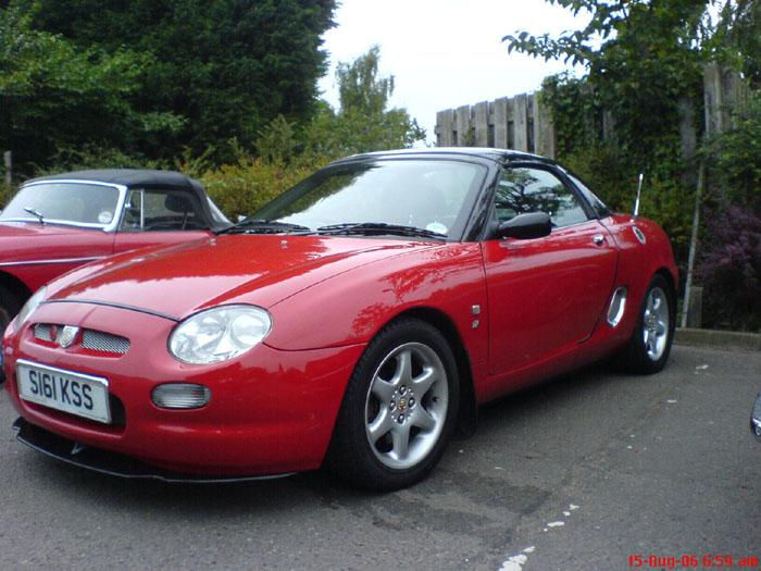 My little red MGF