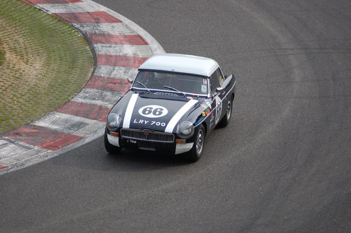 Top Hat practice - Martin Russell at the wheel