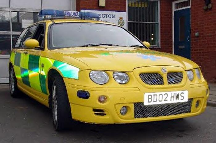 Supplied brand new by MG Rover to West Midlands and Shropshire Ambulance Service for responder purposes.
