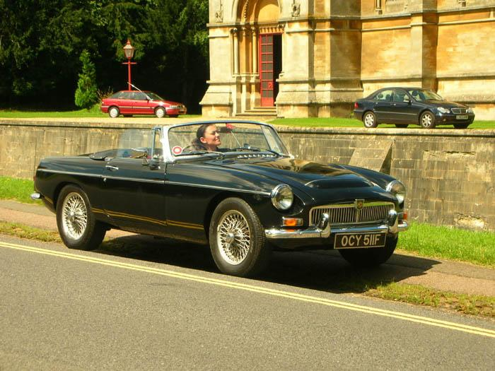 """Audrey and Giulia"" at Woburn Abbey"