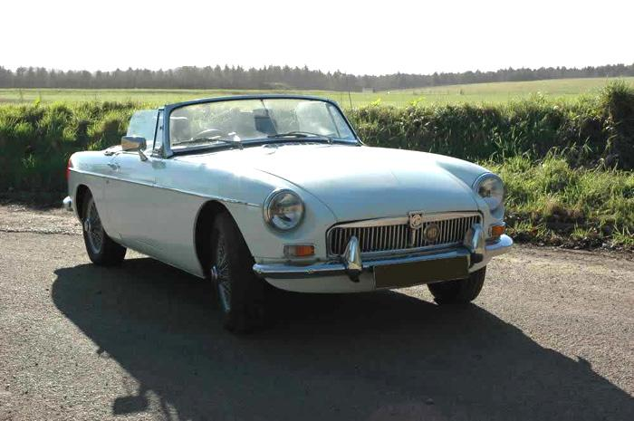 Jerry's MGB