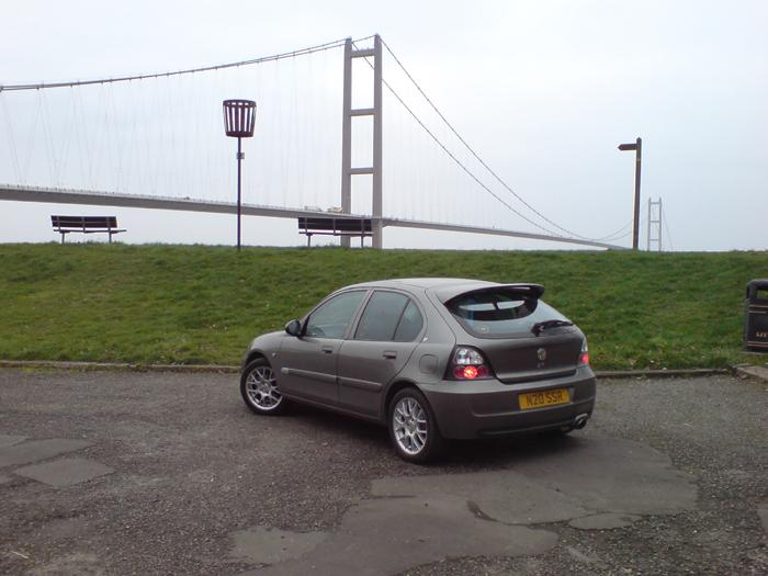 ZR and the Humber Bridge