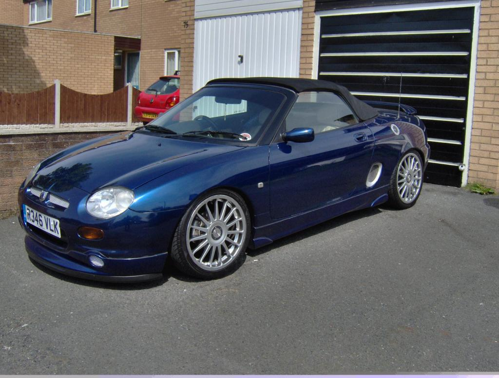 this is mgf 1.8 vvc i still got lots more to do