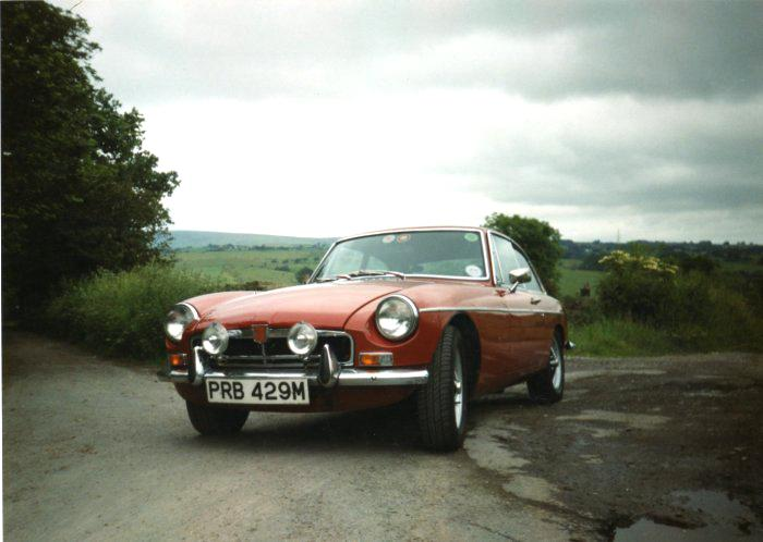 This is my new 1973 MGB GT, only had it since June and i love it, looks great, sounds great and goes like a rocket.