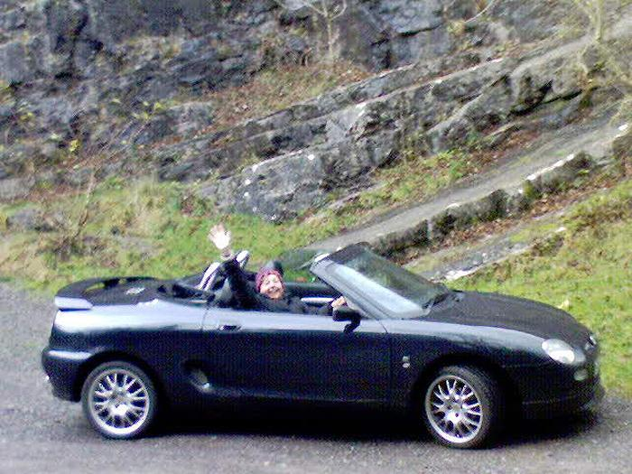 Weekend drive down to Cheddar Gorge