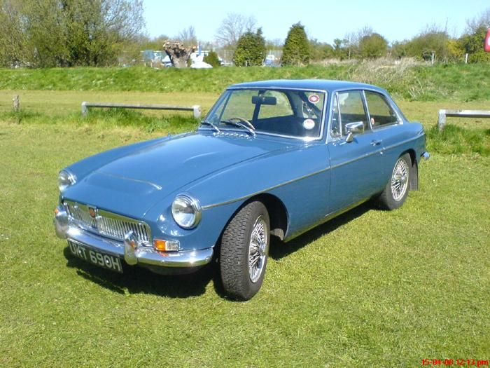 MGC GT - as original, first registered June 1970 - still going strong after a bit of TLC