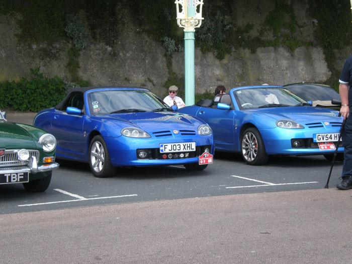 Regency Run 2009 parking on Madeira Drive