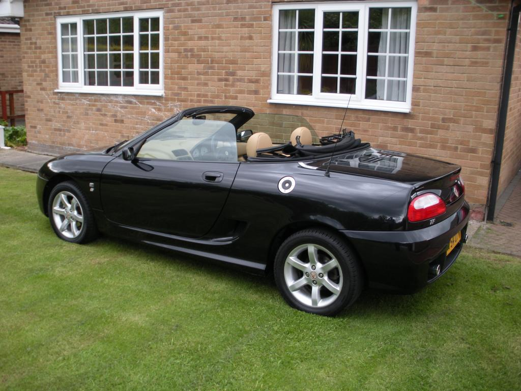 My MG TF 135 in black.