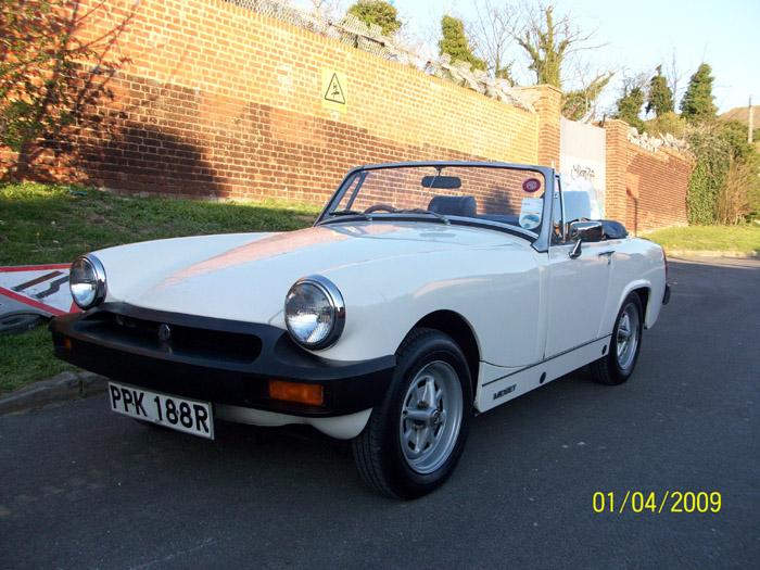 This is my MG Midget it  is my pride and joy!!!