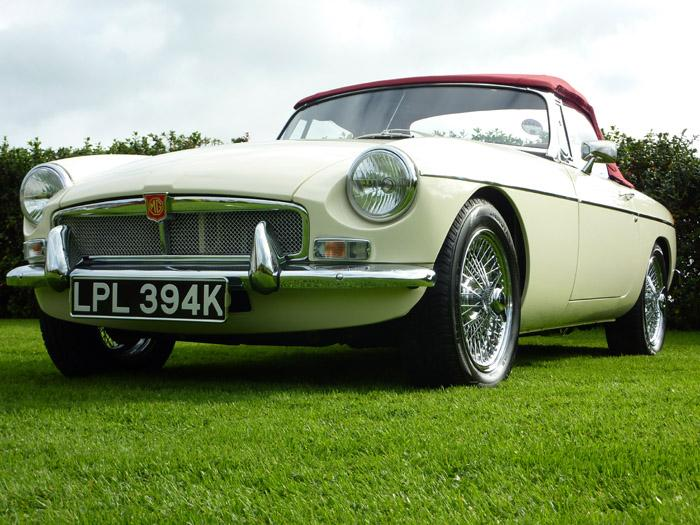 Self indulgence - my first MGB Roadster purchased from MGB Hive
