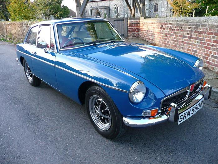 1973 MGB GT Teal BlueREG NO: SKM 560M