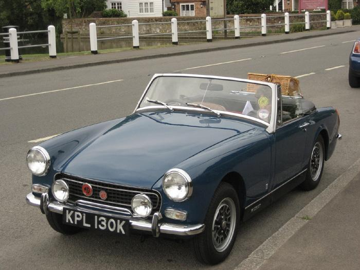 We are both getting on for 70 so this is our last MG MIDGET but we will enjoy it
