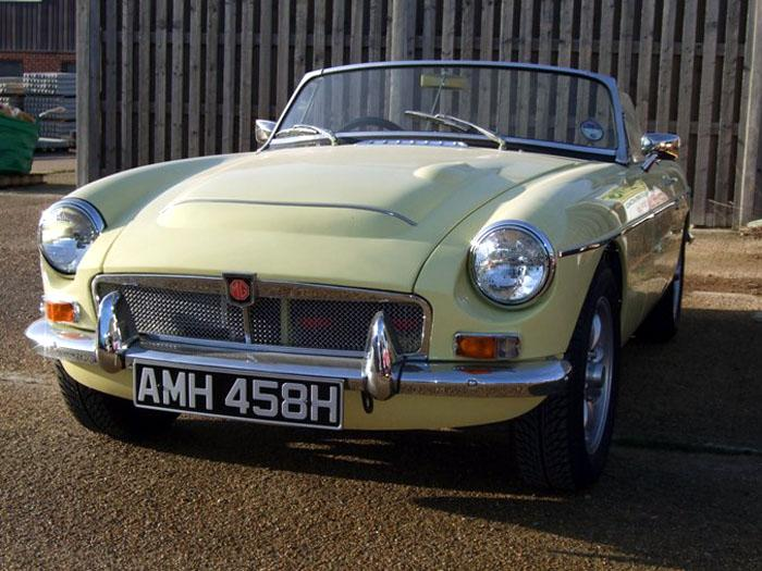 Glad to have another MGC back on the road after being laid up for 25 years.