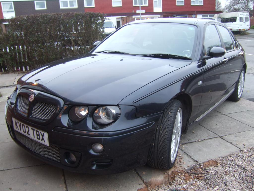 MY new addition to out MG fleet a MGZT 190+ to go with our MGZS 120 saloon and a MGTF 160 and a MGF VVC