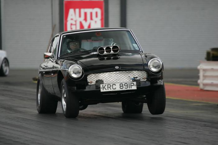 Good traction allowing all the power to get to the track surface.. What great fun :)