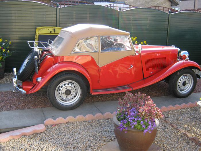 1953 MG TDVERMILLION RED at present?