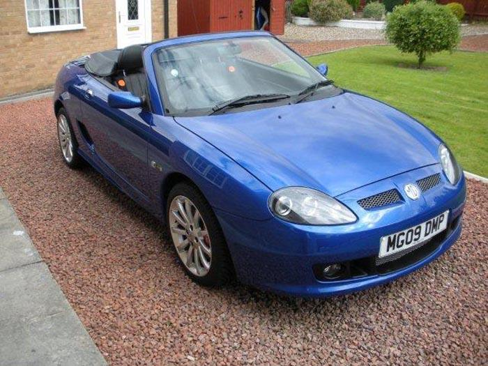 This MG TF LE500 is number 423 of 500