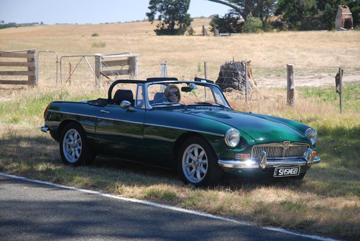Driving an MG in Victoria is an absolute delight. Excellent weather, lovely countryside and excellent roads