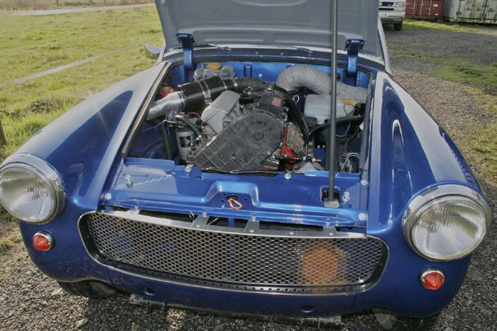 The most economical Midget ever, a turbodiesel gives loads of power too