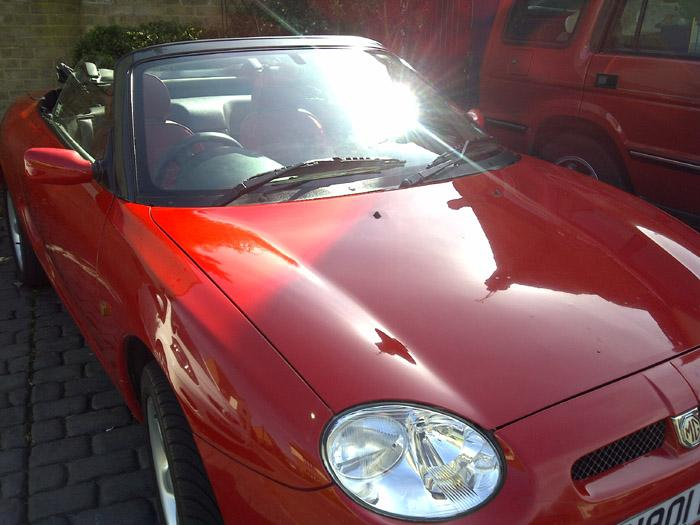ONE OF MY 1995 MGF'S