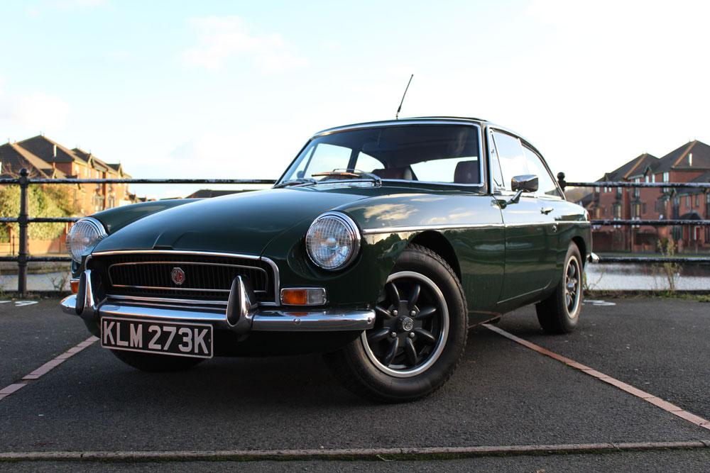 Only 20 years old and purchased my first classic! My 1971 MGB GT